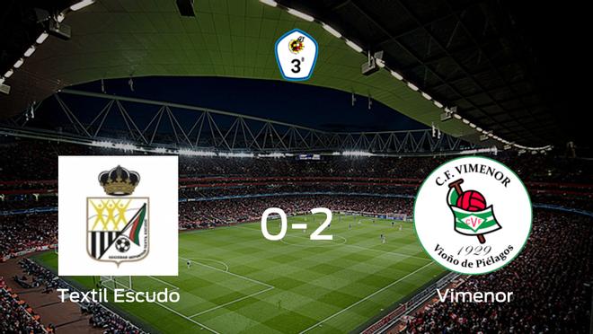El CF Vimenor vence 0-2 en el estadio del SD Textil Escudo