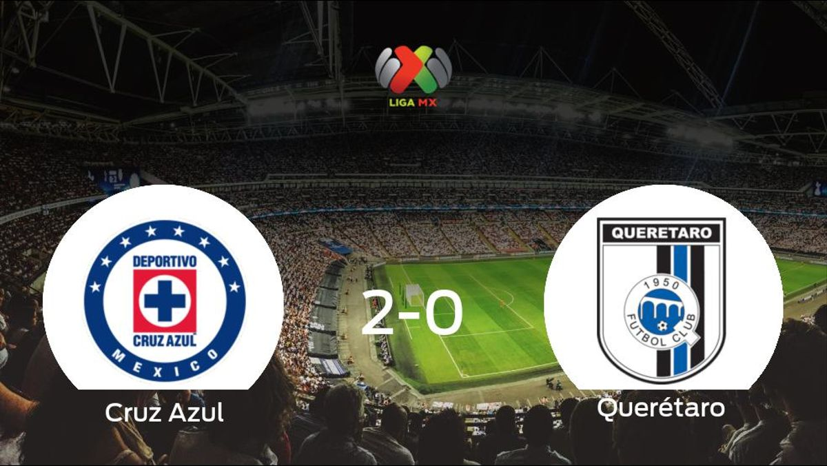 Los tres puntos se quedan en casa: Cruz Azul 2-0 Querétaro