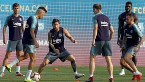Así preparó el Barça el partido frente al Valladolid