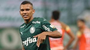 Gabriel Veron, el extremo del Palmeiras apunta muy alto