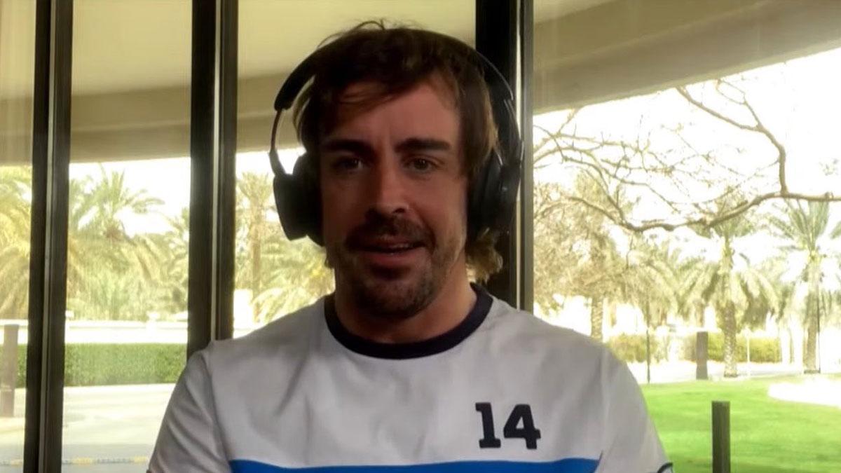 Fernando Alonso, listo para volver a la acción en Bahrein