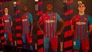 ¡Pasea por el nuevo vestuario del FC Barcelona!