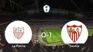 El Sevilla C gana 0-1 en el feudo de La Palma CF