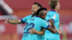 El Barça arrolla al Mallorca en su retorno a LaLiga
