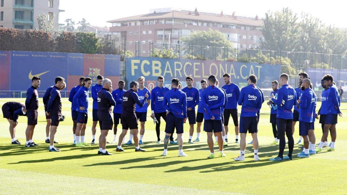 Valverde sigue recuperando efectivos de cara al Eibar-Barça de la Liga