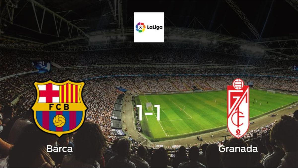 Victory beyond reach for Barca, as they only manage a 1-1 draw with Granada