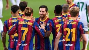 El Barcelona viene de una victoria en su último enfrentamiento por LaLiga