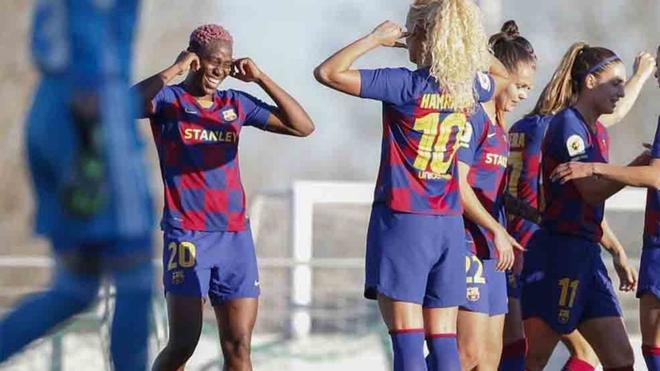 El Barcelona ha contribuido al fútbol femenino