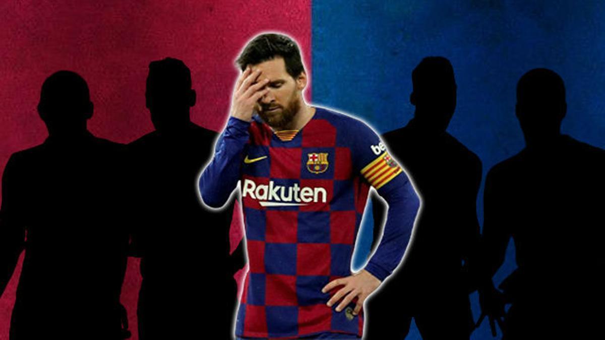 Los cuatro fichajes en los que piensa el Barça para no dejar solo a Messi