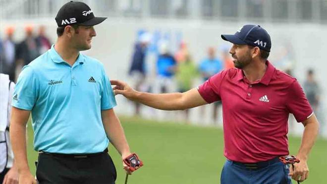 Rahm, Sergio García y Cabrera-Bello, compartirán juego en el US Open
