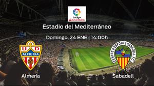 Previa del encuentro: el Almería recibe al Sabadell