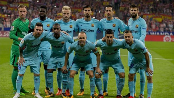 Ocho culés pueden formar parte del equipo ideal de la temporada 2016-17