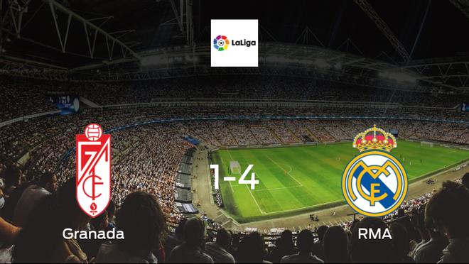 Granada blown away by RMA in a the Estadio Nuevo Los Carmenes goal-fest