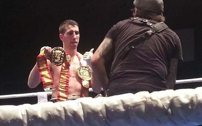 Sandor Martín disputará el título superligero de la Unión Europea ante Samuele Esposito