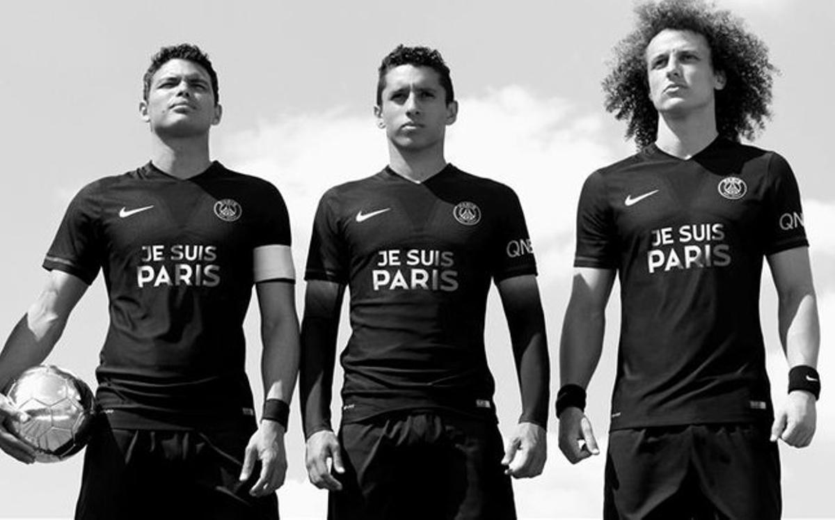 Tres centales del PSG, tres brasileños, dos puestos