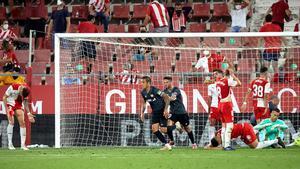 El gol de Trejo antes del descanso fue el que dio el ascenso al Rayo