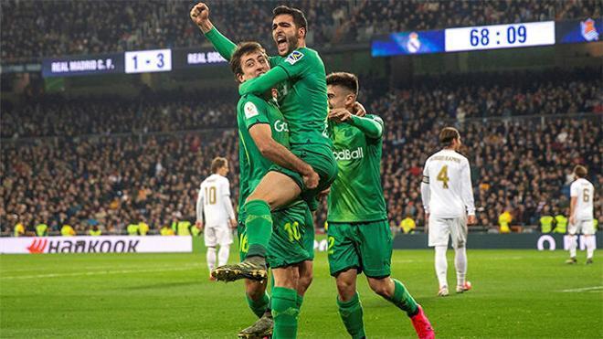 Merino sentenció el partido en el Bernabéu