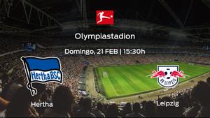Previa del partido: Hertha Berlín - RB Leipzig