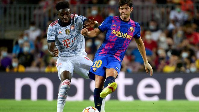 El Camp Nou se cebó con Sergi Roberto tras ser sustituido