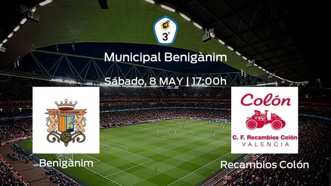 Previa del partido de la jornada 6: Benigànim contra Recambios Colón