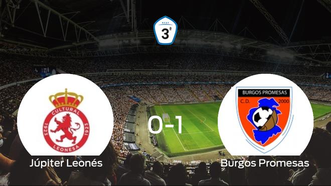 El Burgos Promesas se lleva el triunfo tras ganar 0-1 al Júpiter Leonés