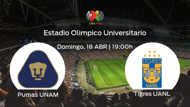 Previa del encuentro de la jornada 15: Pumas UNAM contra Tigres UANL