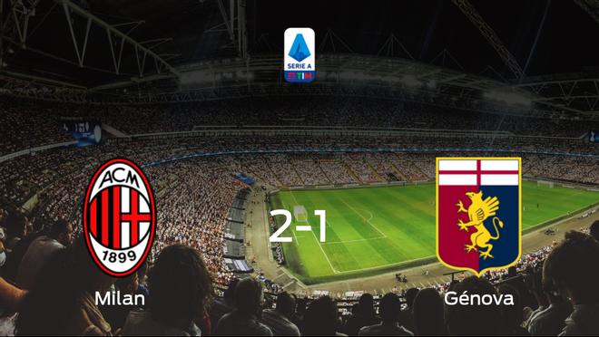 El AC Milan gana por 2-1 al Génova