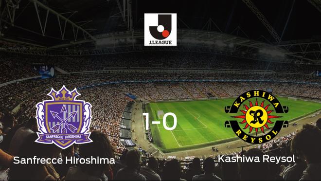 El Sanfrecce Hiroshima se lleva tres puntos después de derrotar 1-0 al Kashiwa Reysol
