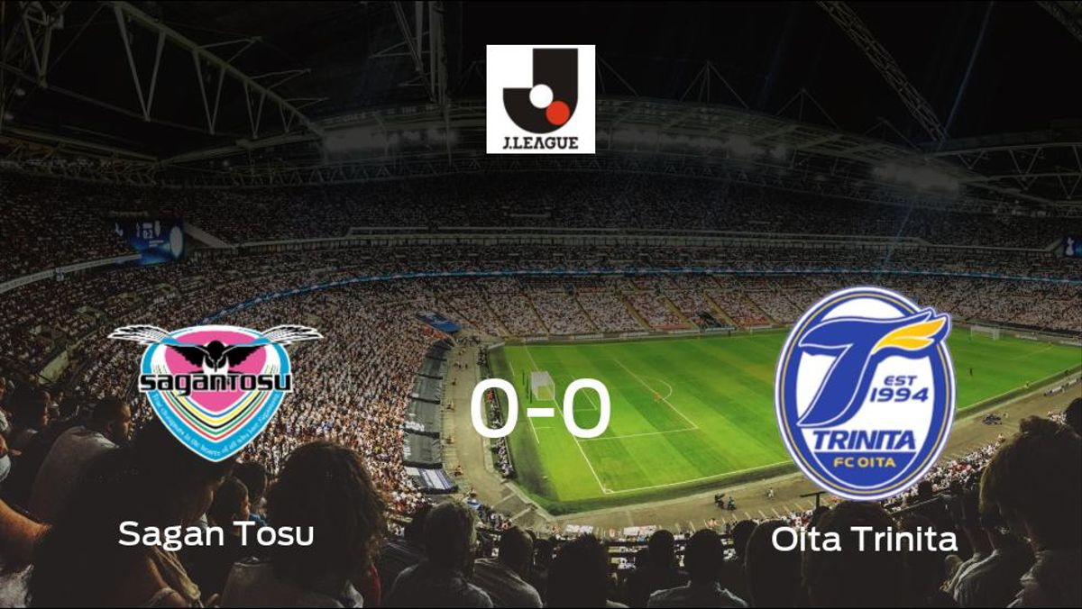 El Sagan Tosu y el Oita Trinita concluyen su enfrentamiento en el Best Amenity Stadium sin goles (0-0)