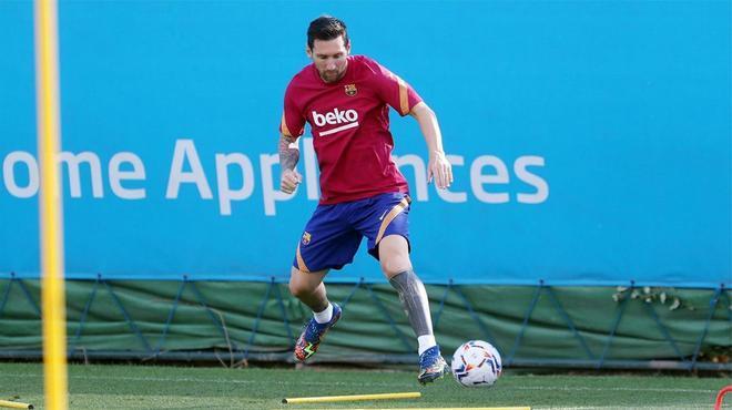 La imagen que el barcelonismo quería ver: Messi, de nuevo, con la camiseta del Barça
