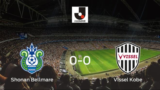 El Shonan Bellmare y el Vissel Kobe se reparten los puntos en un partido sin goles (0-0)