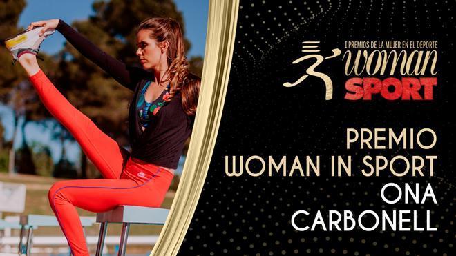 Premio Woman in Sport: Ona Carbonell y la conciliación del deporte y la maternidad