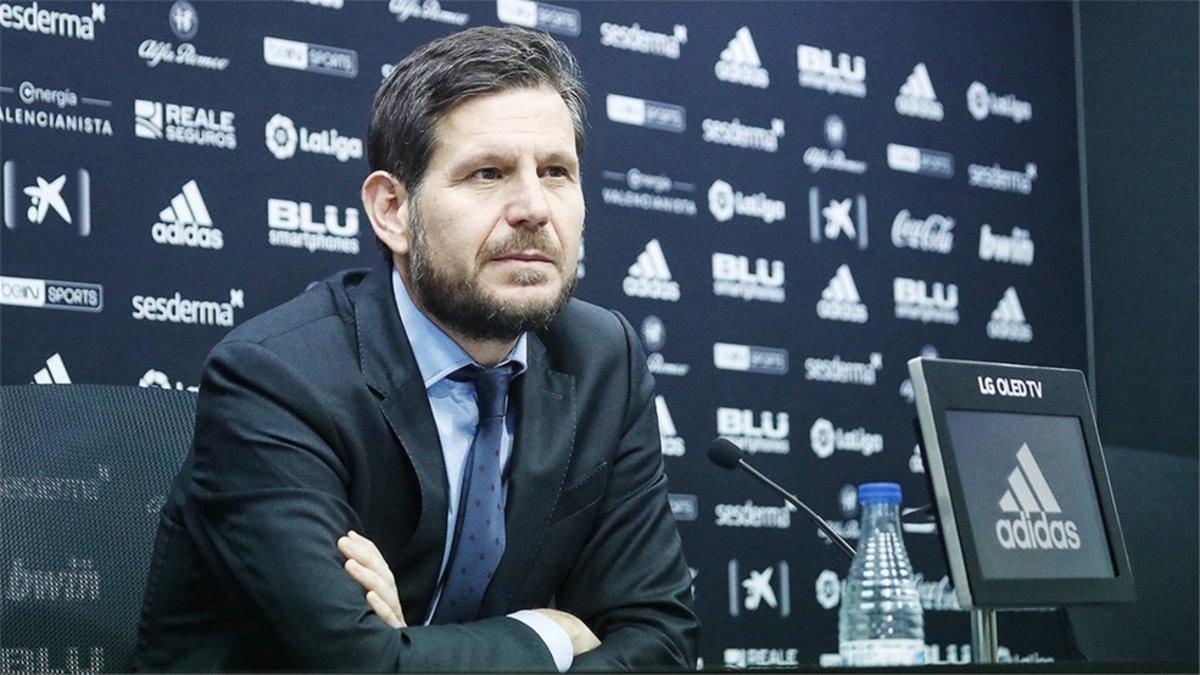 Mateu Alemany intenta desligarse del Valencia pero Peter Lim dificulta su salida
