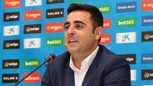 David Gallego, entrenador del RCD Espanyol