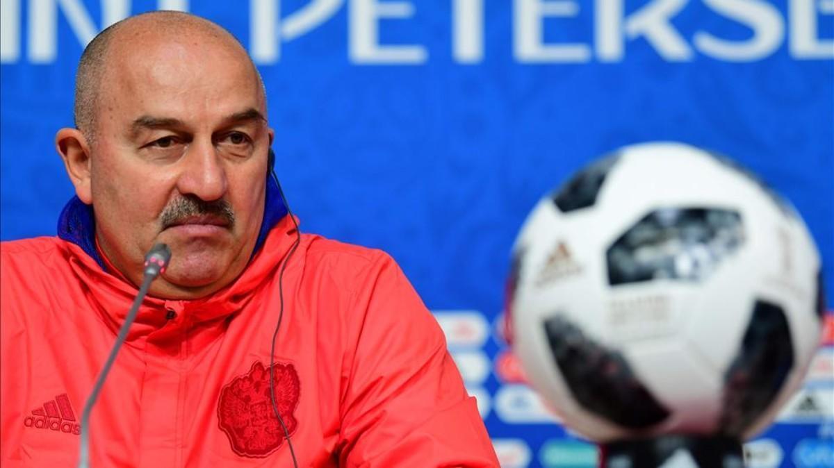Stanislav Cherchesov, seleccionador ruso