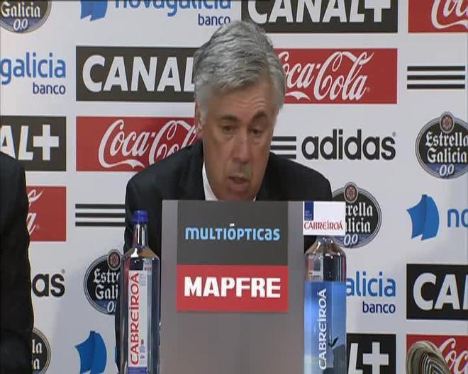 Ancelotti fue crítico con el juego de su equipo