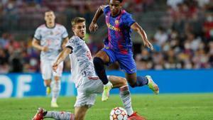 Baldé: Fue un sueño debutar con el Barça, llevo desde los siete años trabajando