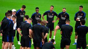 Así ha sido el entrenamiento del Real Madrid antes del enfrentamiento ante el Inter