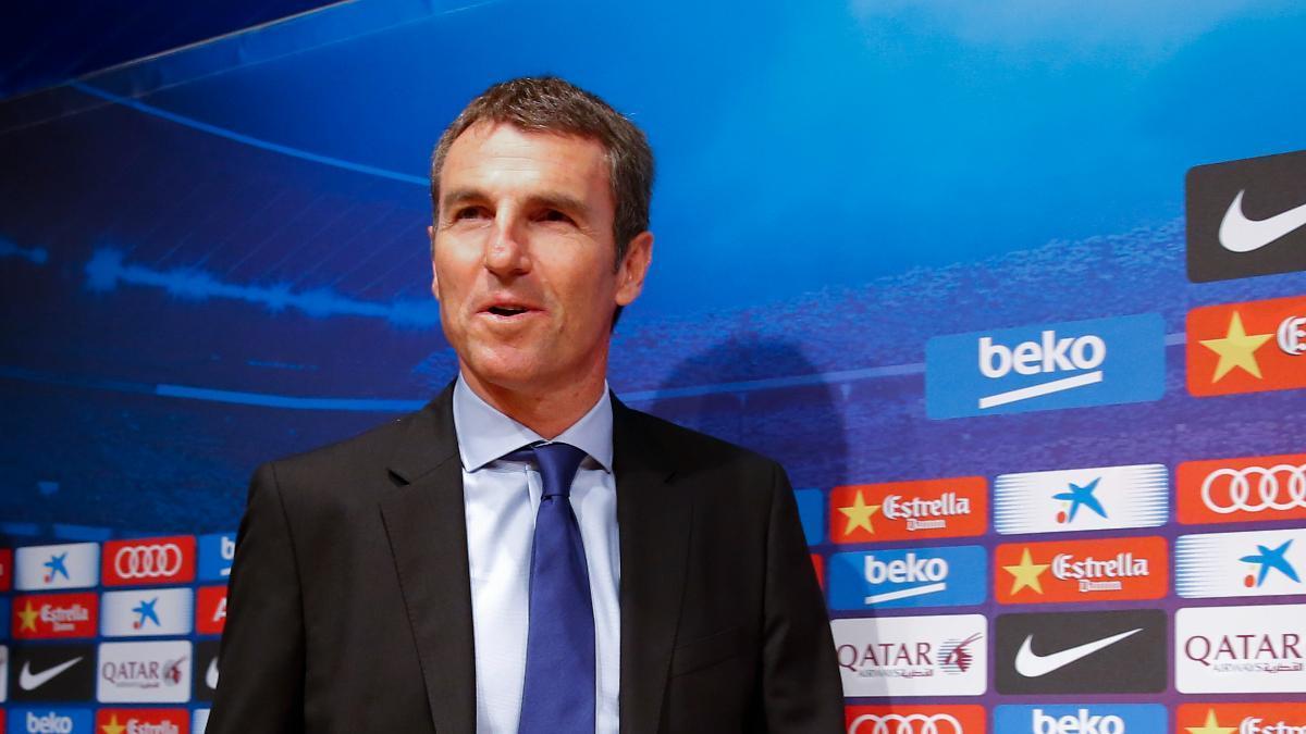 Robert Fernández, antiguo jugador y director deportivo del Barça