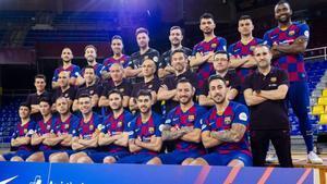 El Barça volvió a hacerse la foto oficial, ya con Ximbinha
