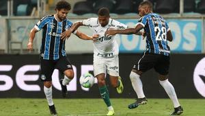 El Palmeiras fue muy superior al Gremio en el encuentro de ida
