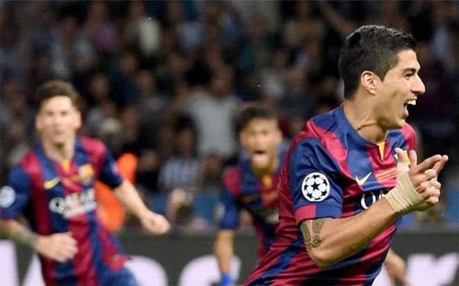 Suárez fue uno de los goleadores de la noche