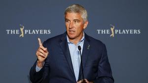 El comisionado del PGA Tour, Jay Monahan, lanzó un aviso a los jugadores