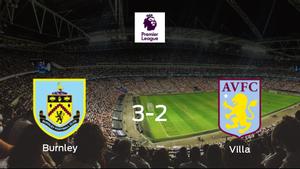 El Burnley consigue la victoria frente al Aston Villa (3-2)