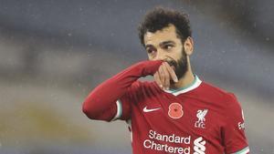 Mohamed Salah es el máximo goleador del Liverpool esta temporada en Premier League con 8 goles anotados