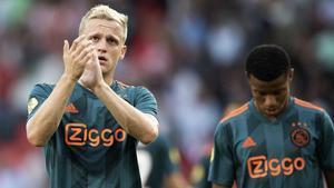 Van de Beek, sobre el Real Madrid: No he firmado ningún contrato