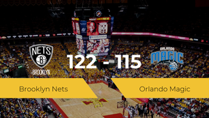 Brooklyn Nets derrota a Orlando Magic (122-115)