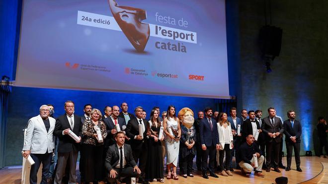 La Festa de l'Esport Català, una gala de estrellas