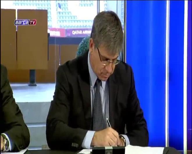Luis Enrique ya es nuevo entrenador del FC Barcelona