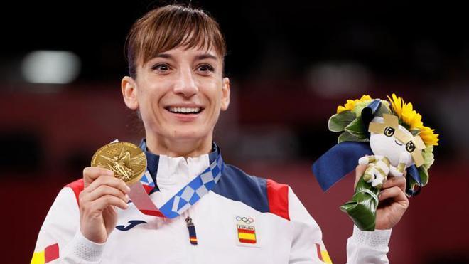 Sandra Sánchez, oro en karate